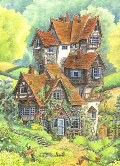 The Burrow by Lhox on DeviantArt