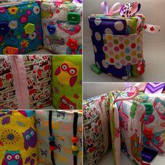 Custom baby/toddler fabric i spy/ sensory by PrairieBlissCreation