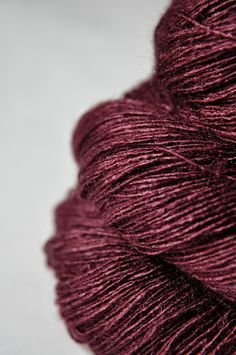 Lovingly hand dyed yarn by DyeForYarn – Silk (Tussah Silk) - Lace weight 760 yds skein) This is a dark saturated bluish red. All listed skeins are of the same dye lot. Silk yardage per 760 listing skein size: 100 gram => 760 (Tussah silk) Heavy Lace – Textiles, Magenta, Yarn Thread, Burgundy Wine, Pantone Color, Pantone 2015, Color Of The Year, Yarn Colors, Violet
