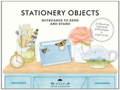 Stationery Objects: Notecards to Send and Stand by Dear H...