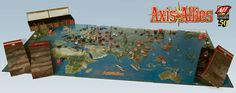 Axis and Allies 50th Anniversary Edition contents