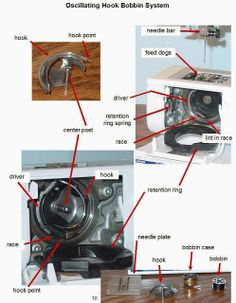 She's A Sewing Machine Mechanic: How To Clean And Oil The Bobbin Area