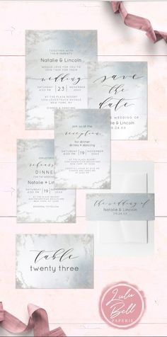 Wedding Invites Script Collection Style 36 Wedding Invitations Wedding Invitation Suite Invitation Set of 50