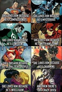 Super Lovers. Who's your favorite comic couple? | Dick Grayson (Nightwing) and Koriand'r (Starfire)