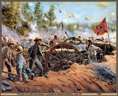 The Art of Don Troiani (formerly distributed by Historical Art Prints) Confederate States Of America, America Civil War, America America, Confederate Flag, Military Art, Military History, American War, American History, Civil War Art
