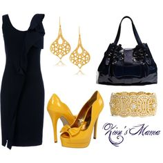 A Golden Touch, created by zionsmama on Polyvore