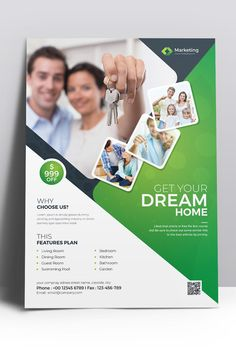 Dream Home Business Flyer Corporate Identity