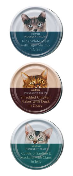 Waitrose Cat Food | Turner Duckworth, England PD