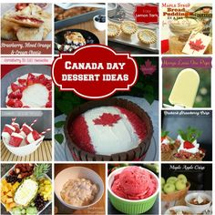 Canada Day Menu Ideas via @canadianmomeh