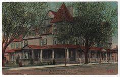 The Lexington Hotel Lakewood New Jersey NJ Postcard