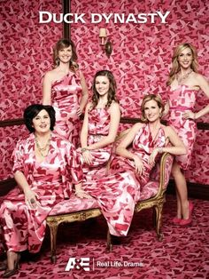 The Ladies of Duck Dynasty. I love the fact that Sadie is in the picture!!