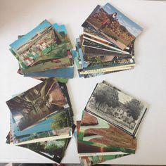 Lot of 72 Vintage Postcards USA Canada Travel Souvenir Collectible Mixed Chrome