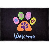 All Paws Welcome Indoor/Outdoor Mat at The Animal Rescue Site