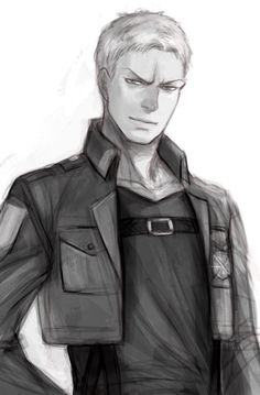 Reiner Braun Shingeki no Kyojin I'm not completely sure why I like him or Bertholdt or Annie so much. I just do.