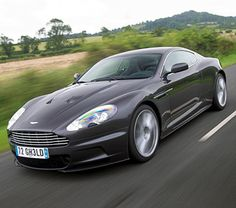 Aston Martin DBS : James Bond's car in Casino Royale and Quantum of Solace
