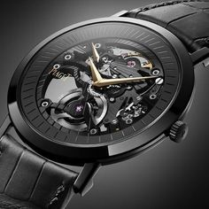 Does Piaget set a trend with the Altiplano Only Watch 2011 - Monochrome Watches . - Does Piaget set a trend with the Altiplano Only Watch 2011 – Monochrome Watches - Dream Watches, Luxury Watches, Cool Watches, Watches For Men, Black Watches, Skeleton Watches, Fancy, Beautiful Watches, Sport Watches