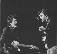 Bob Dylan live in San Francisco with Robbie Robertson -  1965