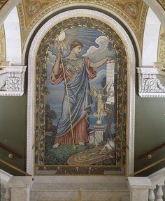 Elihu Vedder (1836–1923) Minerva (1897)