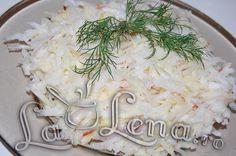 Salata cu ridiche neagra si mere Vegan Meal Plans, Apple Salad, Romanian Food, Coconut Flakes, Meal Planning, Dips, Grains, Vegan Recipes, Meals