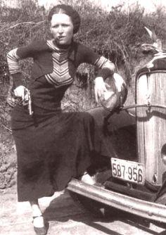 Bonnie's famous cigar photo