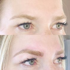 eyebrow microblading blonde hair. image result for microblading brows blonde eyebrow hair pinterest