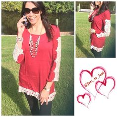 """""""Rose""""  Tunic M & L Only Solid tunic top with panel detail and long sleeves. 100% rayon  S,M,L available comment with size and I will make you a listing!! Tops Tunics"""