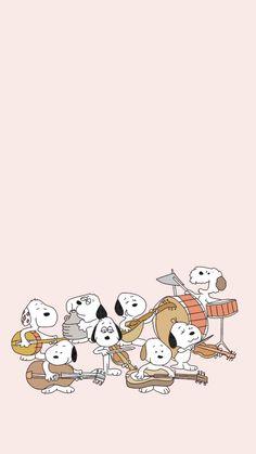 Snoopy Wallpaper, Kawaii Wallpaper, Colorful Wallpaper, Iphone Wallpaper, Famous Cartoons, Disney Cartoons, Cool Wallpapers For Phones, Cute Wallpapers, Snoopy Family