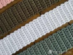 If you struggle withmaking your edges look more even, this photo tutorial will show you where the stop and starts are in a row so you can have good and straight edges on both sides of your crochet project. There are many books you can purchase from native book stores to teach yourself how to …