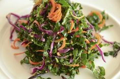 Recipe: Kale Hijiki Salad from The Ultimate Guide to Kale Slideshow