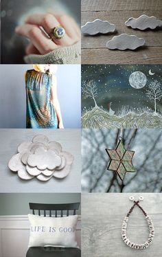 Moonight through the clouds by Heather on Etsy--Pinned with TreasuryPin.com