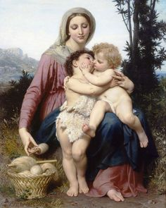 The Holy Family, William-Adolphe Bouguereau