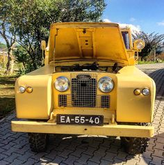 Land Rover 88 Series II. So nice for me. Lobezno.