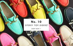 summery top-siders? i think i want a pair...