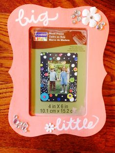 big little picture frame