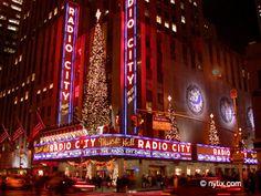 radio city music hall - Google Search