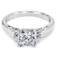 Crescent by Tacori- Diamond engagement ring