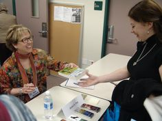 Signing at Montgomery County Book Festival 2013