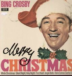 Vintage Christmas Record Album ~ Merry Christmas ~ Bing Crosby