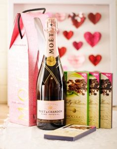 Moët Champagne and Sally Williams Chocolate Hamper!