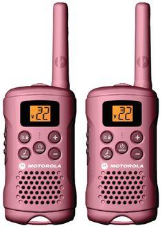 Pink 2-way radio available at pcrichard.com!