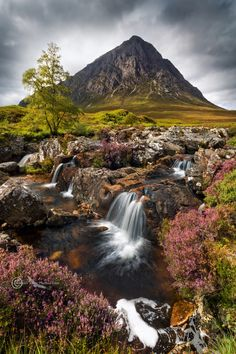 Buachaille Etive Mor, Glencoe. Scotland; photo by .Barbara Jones on 500px