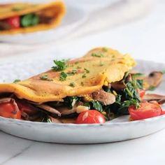 Vegan Omelette😱 by @sovegan 👇🏽Full recipe below👇🏽 . Follow @healthyvegancuisine for more vegan inspiration🌱 📚FREE RECIPE E-BOOK in bio .…