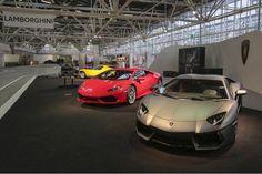 Al Motor Show 2014 presente anche il mitico marchio Lamborghini con 3 modelli straordinari