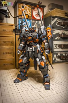 GUNDAM GUY: MG 1/100 Full Metal Armored Jesta - Diorama Build
