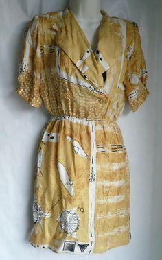 Louis Feraud dress via ebay
