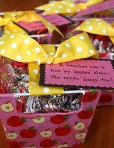 Teacher gift ideas.