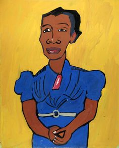 william johnson paintings | Hilda by William H. Johnson / American Art