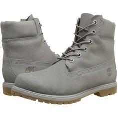 Timberland Icon 6 Premium Boot (Grey Nubuck Mono) Women's Boots
