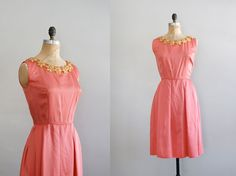 vintage 1960s Pink Lemonade dress
