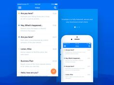 Envelope UI Kit  Mobile Screen by Home Lab